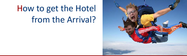 How to get hotel from the arrival